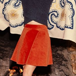 Whirl's Greatest Skater Skirt in Cayenne in M